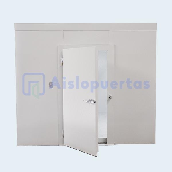 Cámara de refrigeración, con puerta abatible