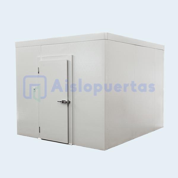 Cámara para refrigeración con puerta abatible medida estándar
