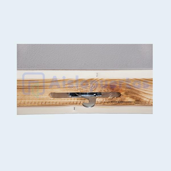 Panel aislado con poliuretano con camlock (gancho)