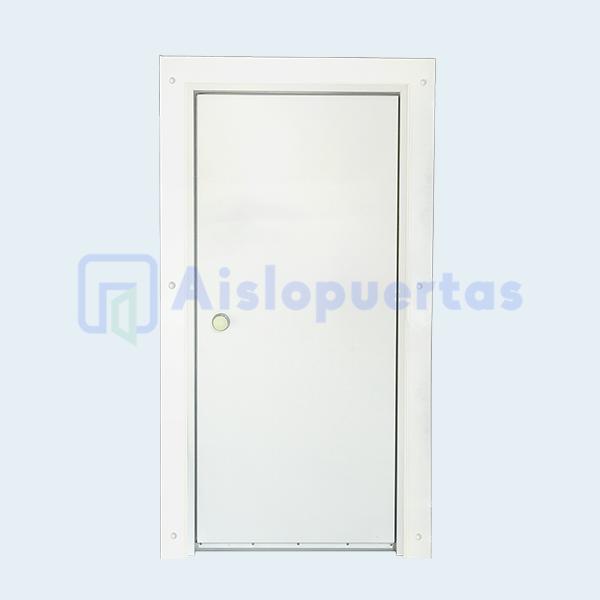 Puerta abatible para congelación, modelo estándar, vista interior